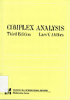 an Introduction to the Theory of Analytic Functions of One Complex Variable. 3rd ed., McGraw-Hill, 1979.