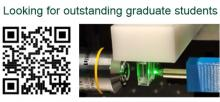 The Optical Imaging and Biosensing lab at Bar Ilan University is looking for outstanding graduate students